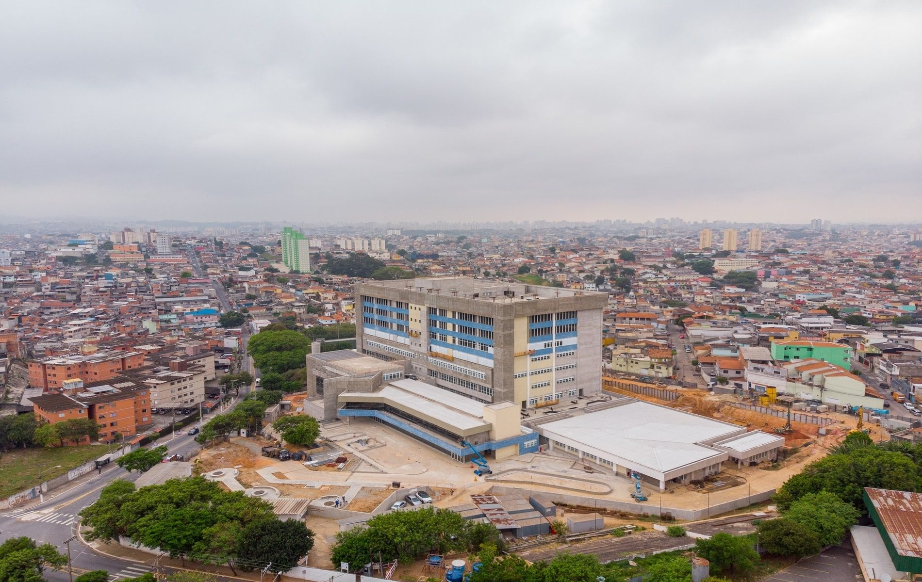 Hospitais de Brasilândia e Parelheiros serão beneficiados com empréstimo (Crédito: Diogo Moreira)
