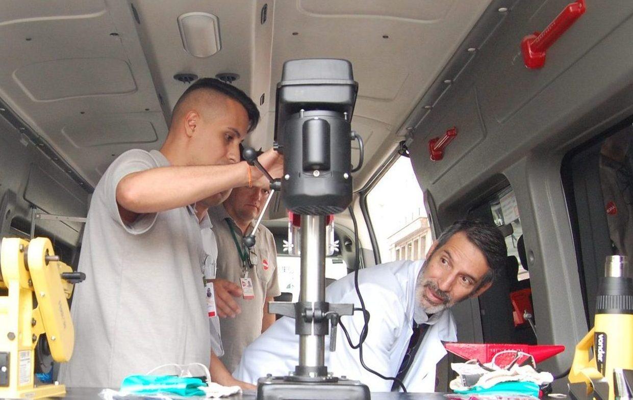 Mutirões nos Bairros conta com serviço especializado em reparos (Crédito: Divulgação Prefeitura)