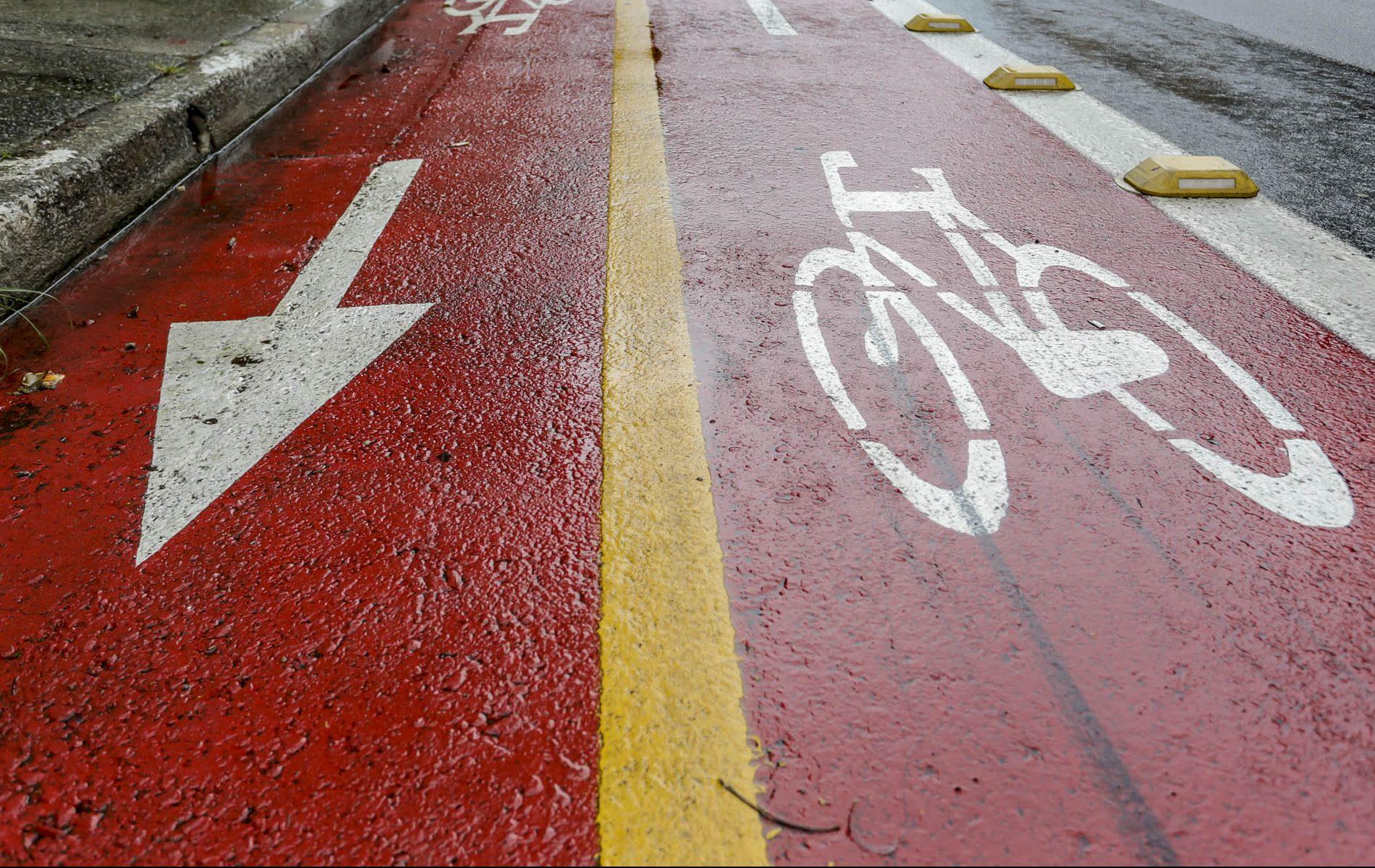 Obras do Plano Cicloviário já foram iniciadas (Crédito: Divulgação Prefeitura)