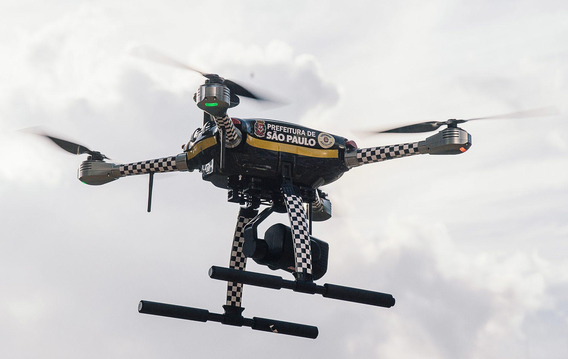 Programa Dronepol alinha tecnologia e inteligência para reforçar operações da GCM e Defesa Civil. (Divulgação: Prefeitura)