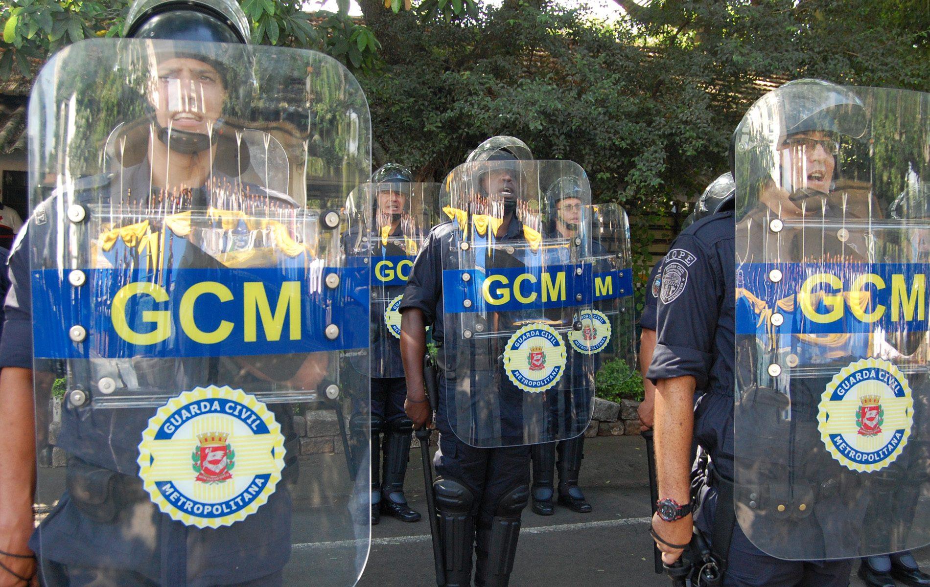 O atual efetivo da Guarda Civil Metropolitana conta com 6.209 guardas. (Divulgação: Prefeitura)