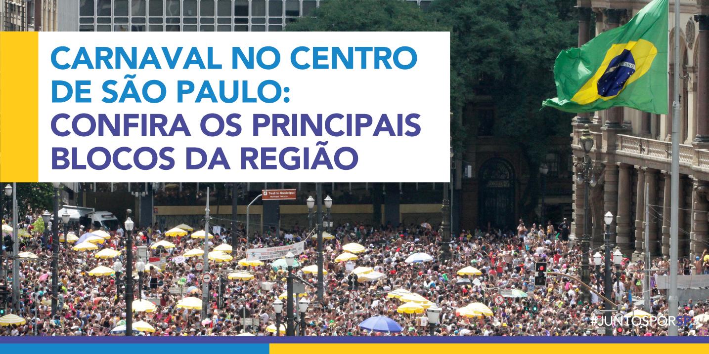 Com blocos em todas as regiões, a proposta é que a cultura popular tome conta das ruas da cidade (Crédito: Divulgação Prefeitura)