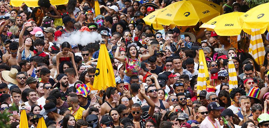 Foliões curtem o carnaval de rua de São Paulo (Divulgação: Prefeitura/Joyce Cury)