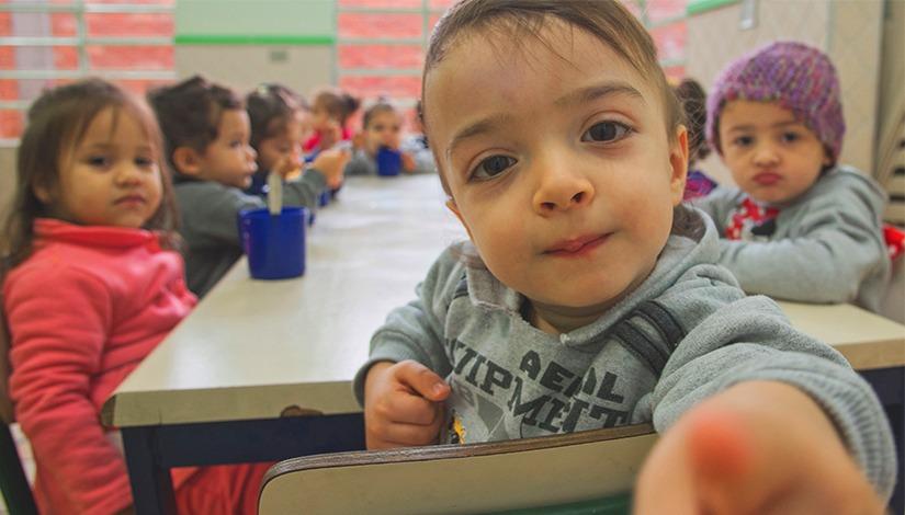 Crianças de 0 a 3 anos serão contempladas pelo Programa Mais Creche (Crédito: Divulgação Prefeitura)