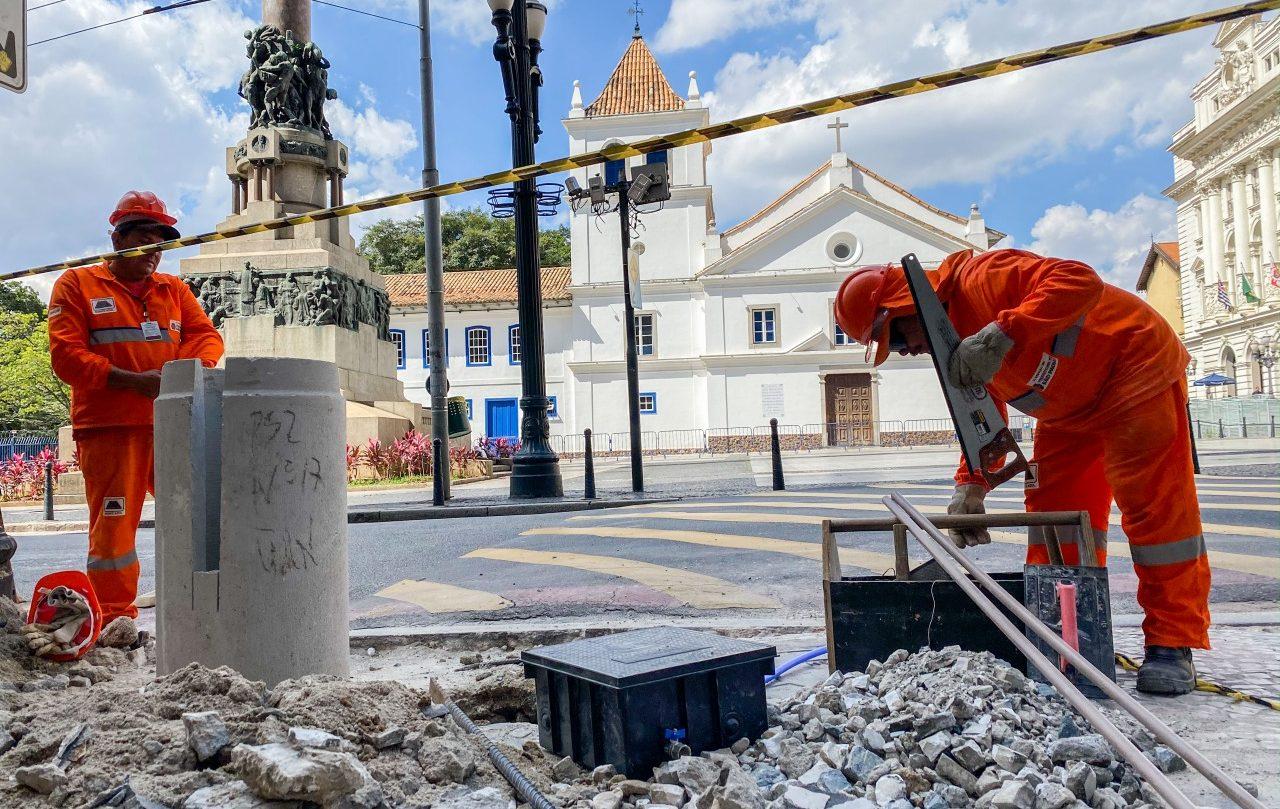 Pias estão espalhadas pela região central da cidade, onde se concentra a maior parte da população em situação de rua (Crédito: Edson Lopes Jr.)