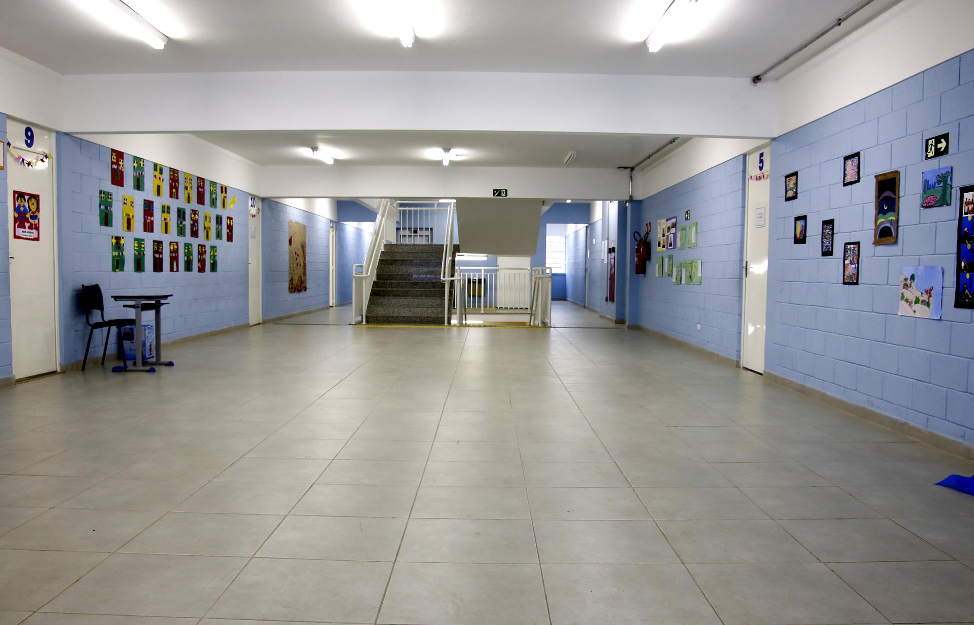 Aulas serão suspensas, mas alunos que não tiverem onde ficar poderão permanecer nas escolas durante a semana de adaptação. (Divulgação: Prefeitura de São Paulo)