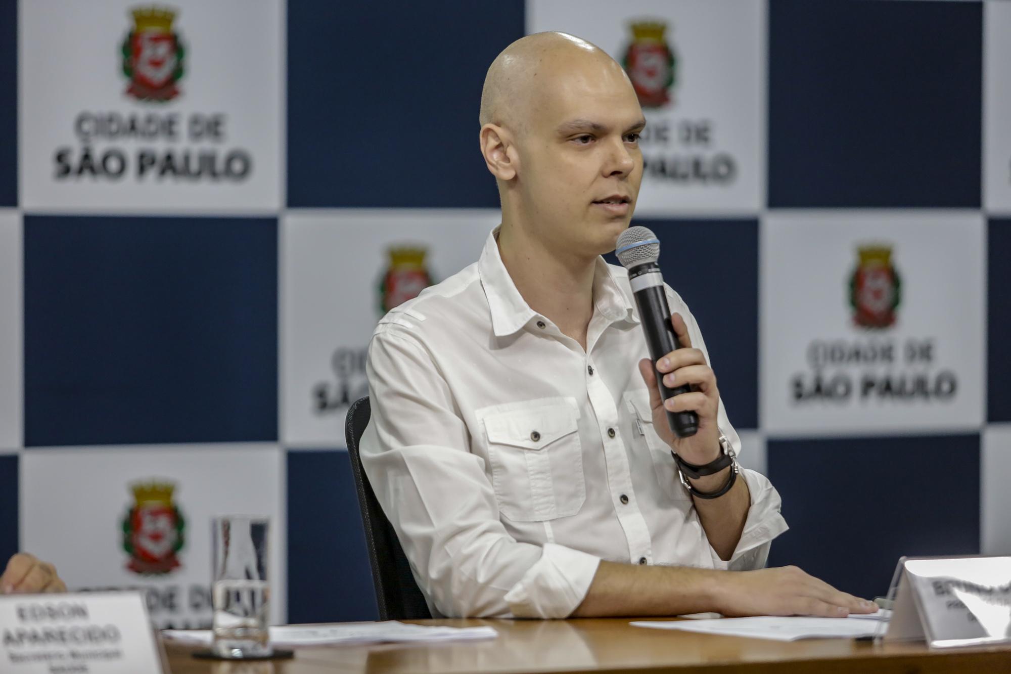 Bruno Covas lançou programa Cidade Solidária. (Crédito: Prefeitura de São Paulo).