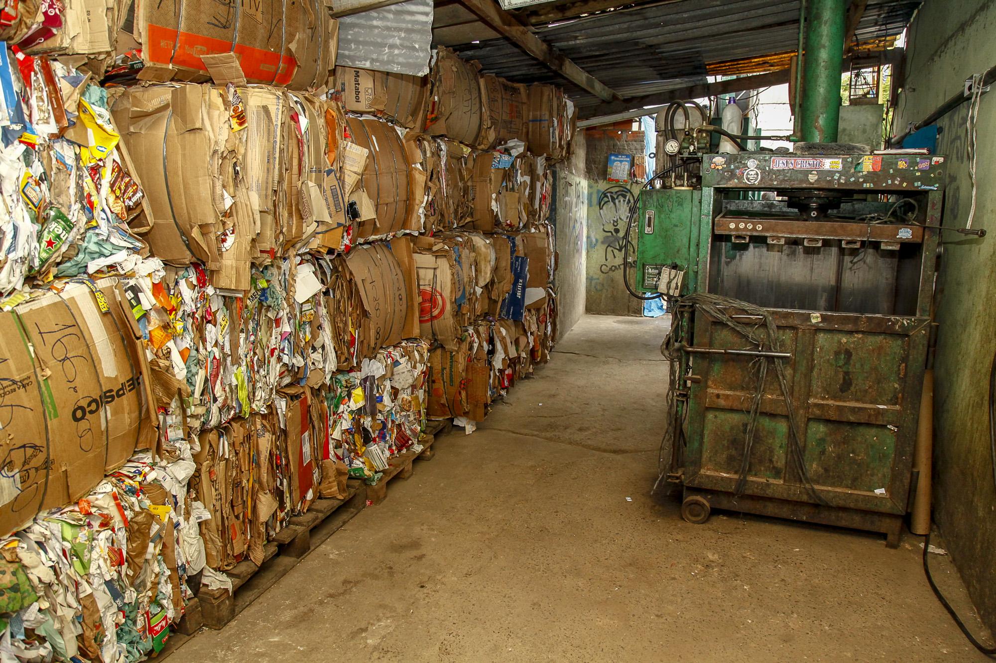 Coleta seletiva sofre aumento de quase uma tonelada de resíduos durante a quarentena (Crédito: Divulgação Prefeitura)