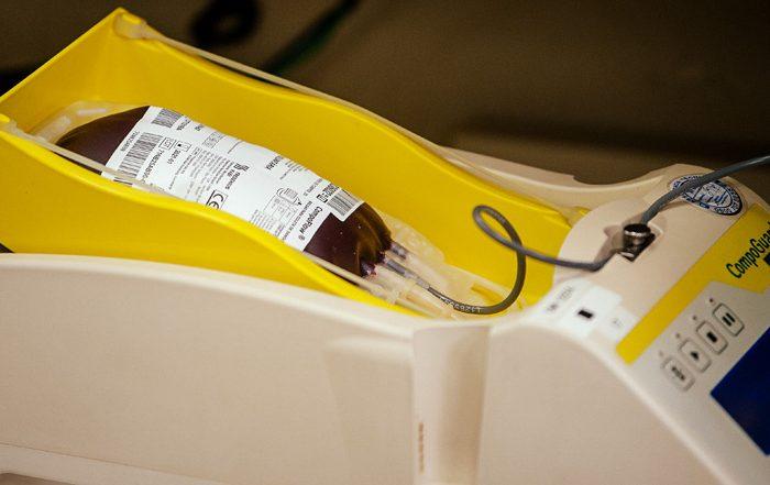 Sangue de um doador pode salvar até quatro vidas (Crédito: Divulgação Prefeitura)