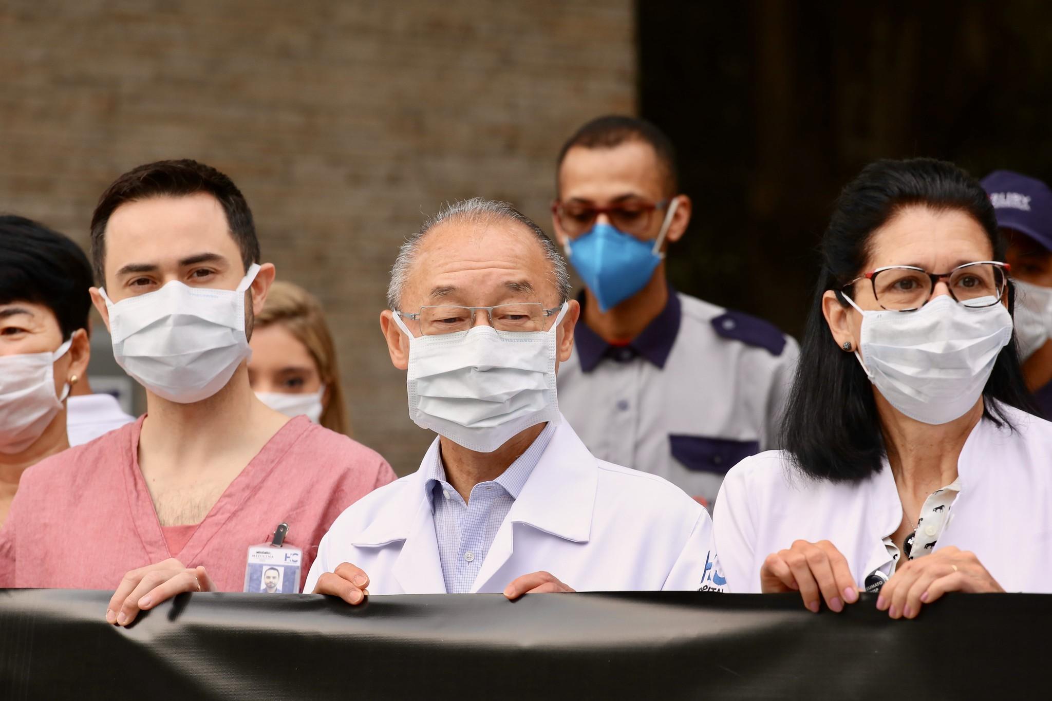 Dois cursos foram disponibilizados pelo Governo do Estado para a capacitação de profissionais de saúde (Crédito: Governo do Estado)