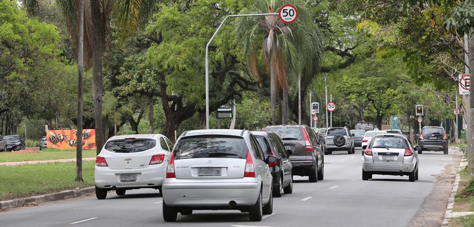 Trabalhadores essenciais poderão solicitar isenção do rodízio de veículos na capital (Crédito: Divulgação Prefeitura)