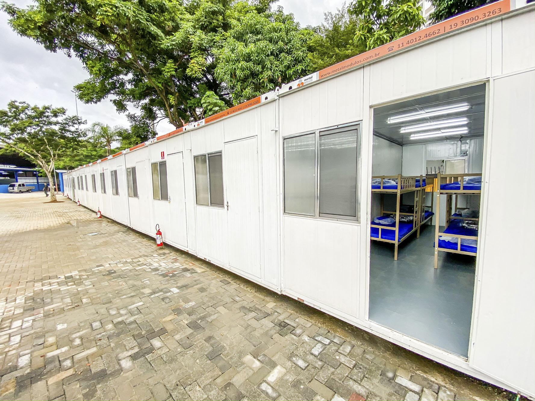 Vagas em centros de acolhida estão sendo ampliadas na cidade para atender população vulnerável (Crédito: Divulgação Prefeitura)