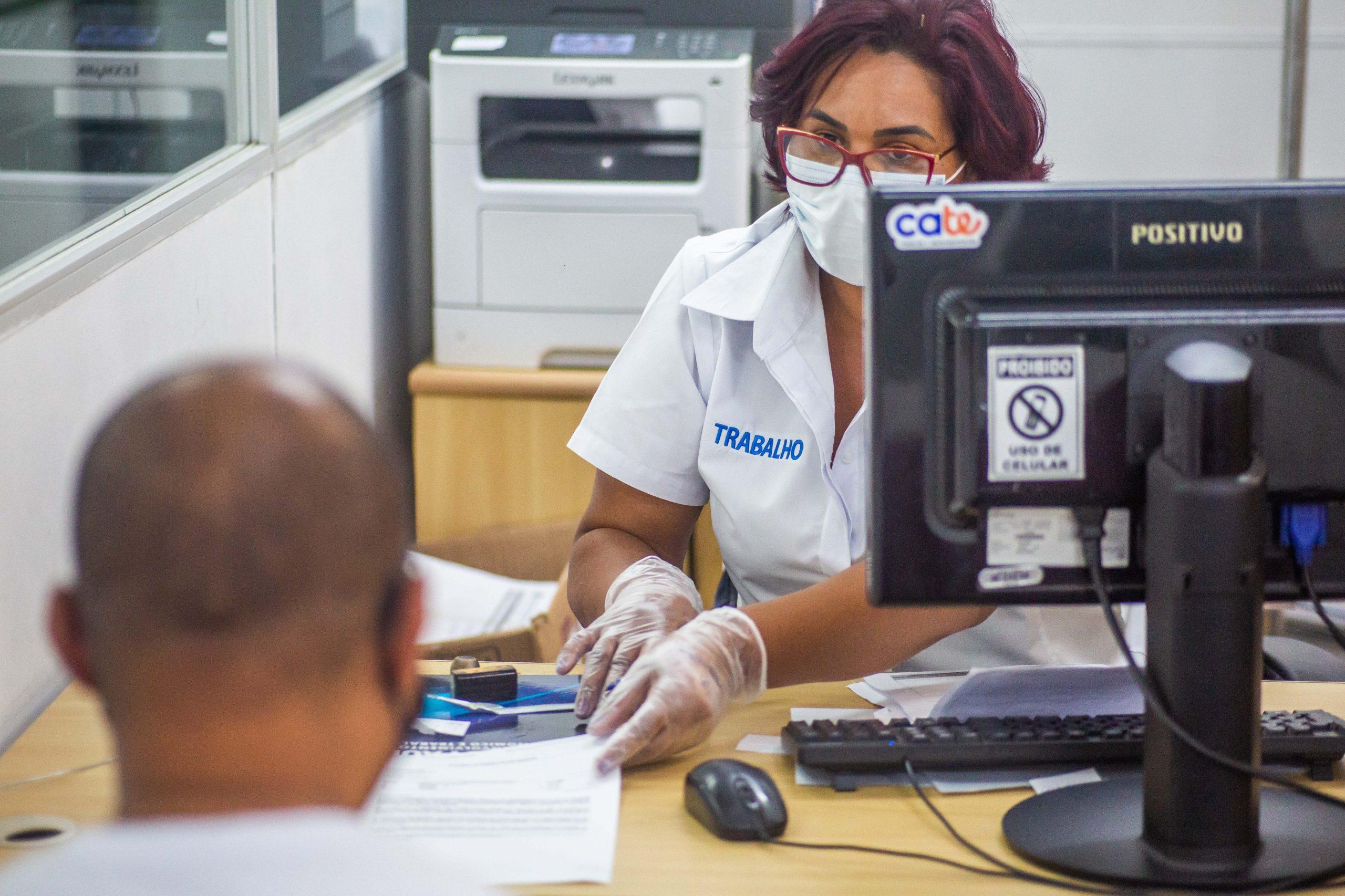 Os atendimentos no Cate são feitos exclusivamente mediante agendamento e para solicitar seguro-desemprego e auxílio emergencial. (Divulgação: Prefeitura de São Paulo)